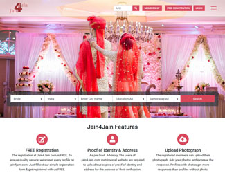 Jain Matrimonial Website